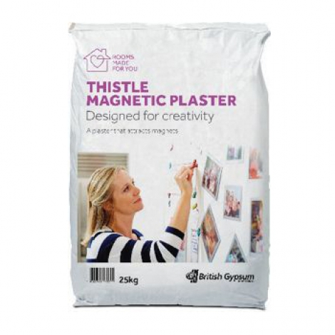 British Gypsum Thistle Magnetic Plaster 25kg