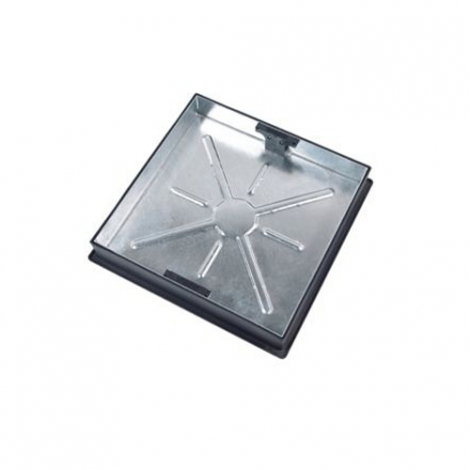Clark-Drain Square to Round Recessed Manhole Cover & Frame