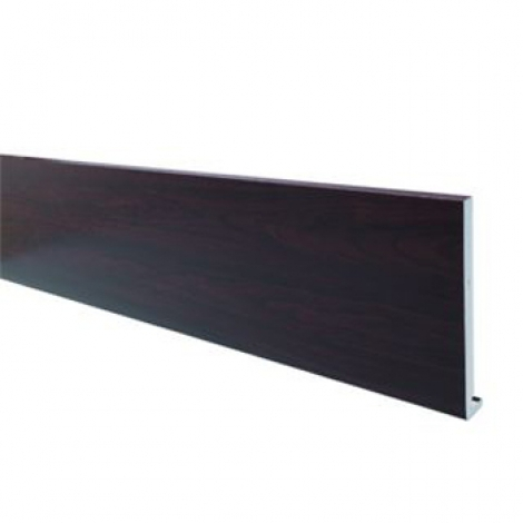 Wickes PVCu Black Fascia Board 18 x 175 x 4000mm