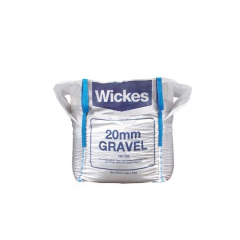 Wickes 20mm Gravel Pea Shingle Jumbo Bag