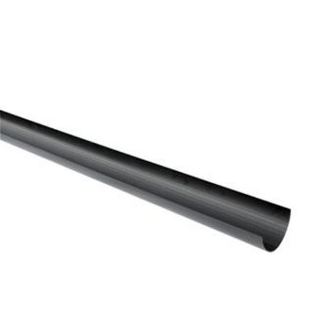 Wickes Black High Capacity Gutter Length 4000mm