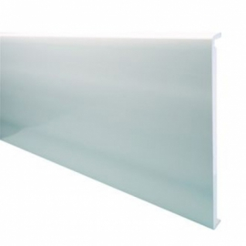 Wickes PVCu White Box End Board 18 x 450 x 1250mm