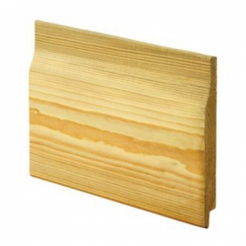 Wickes Rebated Shiplap Cladding 14.5x119x2400mm Single