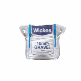 Wickes 10mm Gravel Pea Shingle Jumbo Bag