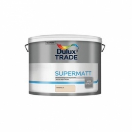 Dulux Trade Supermatt Emulsion Paint Magnolia 10L