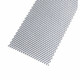 Wickes Perforated Steel Stretched Metal Sheet 600 x 1000mm